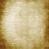 Words of light on parchment Royalty Free Stock Images