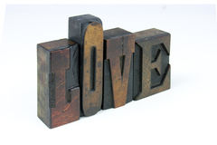 The words love Stock Photography