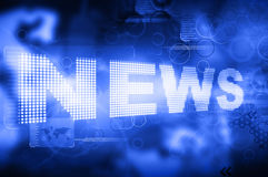 Words News stock photography