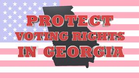 Protect Voting Rights in Georgia USA