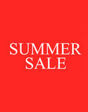 The words Summer Sale on background Stock Photo