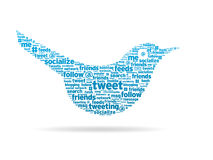 Words - Tweet Stock Photo