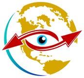 Wordwide vision stock illustration