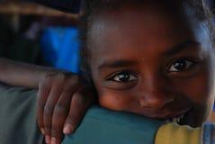 Woreta, Amhara, Ethiopie : Sourire de fille photos libres de droits