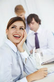At work, Royalty Free Stock Images
