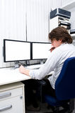 At work Royalty Free Stock Photo