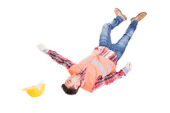 Work accident concept Royalty Free Stock Photo