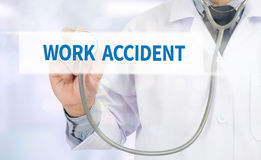 WORK ACCIDENT stock images