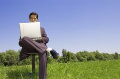 Work anywhere Royalty Free Stock Photo