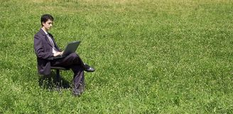 Work anywhere Stock Image