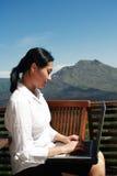 Work Anywhere royalty free stock photo