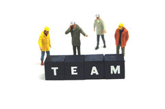 Work as a team Stock Photo