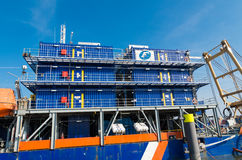 Work barge Royalty Free Stock Image