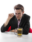 After Work Beer Break Royalty Free Stock Photo