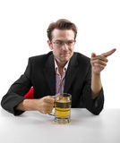 After Work Beer Break Royalty Free Stock Photos