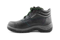 Work boot isolated Royalty Free Stock Photos