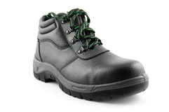Work boot isolated Stock Image