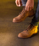 Work boot Royalty Free Stock Photo