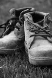 Work boots Stock Photos