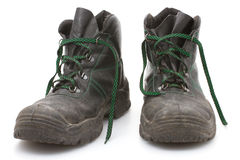 Work Boots Royalty Free Stock Images