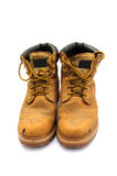 Work boots. Shot of some builders work boots on white Stock Images