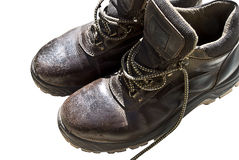 Work boots Stock Image