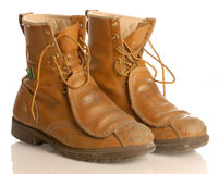Work boots Royalty Free Stock Image