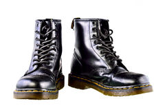 Work Boots on with background Royalty Free Stock Photos