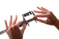 Less work Stock Images