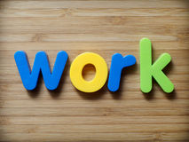 Work concept Royalty Free Stock Image