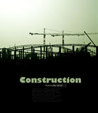 Work on the construction Royalty Free Stock Photos