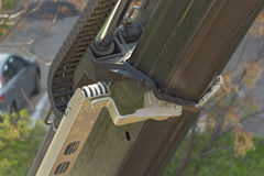 The work of construction machinery. Stock Image