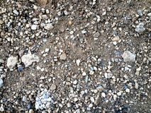 Work  Construction site Gravel Textures. Series of different Construction Site Photos great for textures or many other uses Royalty Free Stock Photos