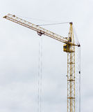 Work crane at a construction site of homes. Stock Images