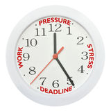 Work deadline stress Stock Photo