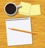 Work desk Royalty Free Stock Photography
