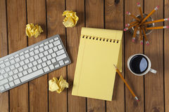 Work on the desk Stock Images