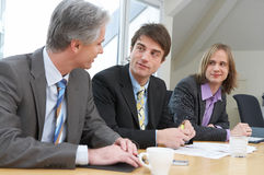 Work Discussion Royalty Free Stock Image