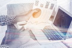 Work and economy concept Stock Photos