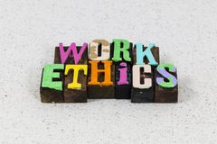 Free Work Ethics Business Professional Teamwork Success Integrity Honest Royalty Free Stock Photography - 164261687