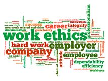 Work ethics Royalty Free Stock Photo