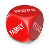 Work or family? Stock Image
