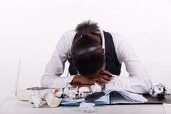Work fatigue Royalty Free Stock Photos