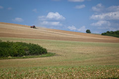 Work in the fields Royalty Free Stock Images