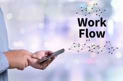 Work Flow, Working Work Step Planning ,Process System. Work Flow, Working Work Step Planning ,Process royalty free stock images