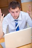 Work frustrations Stock Image