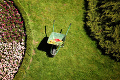 Work in garden Royalty Free Stock Image