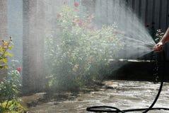 Work of gardener Stock Images