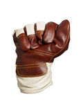 Work glove - fight Royalty Free Stock Images