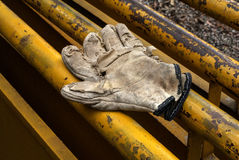 Work glove Royalty Free Stock Photography